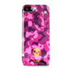Funda Anti-Shock Army Lila Fluo Gris Apple iPhone 5 Puro