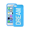 Funda Silicona DREAM Azul (fluorescente) iPhone 5C Puro