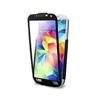 Funda Flipper Pantalla Frontal Táctil Transparente Negra Samsung Galaxy S5 Puro