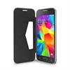 Puro Funda Wallet Negra Función Soporte+Tarjetero Samsung Galaxy  Core Prime