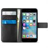 Funda Wallet Negra Cierre Magnético con Tarjetero + Billetera + Soporte Apple iPhone 7 Plus Puro