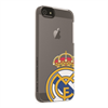 Carcasa Transparente Logo Color Apple iPhone 5 Real Madrid