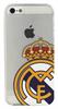 Carcasa Transparente Escudo Color Apple iPhone 4/4S Real Madrid