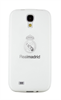 Funda TPU Blanca Logo Plata Samsung Galaxy S4 i9500 Real Madrid
