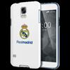 Funda TPU Blanca Escudo Color Samsung Galaxy S5 Real Madrid