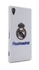 Carcasa Blanca Logo Color SonyExperia Z2 Real Madrid
