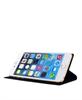 Funda Folio Negra Escudo Plata Función Soporte iPhone 6 Plus Real Madrid