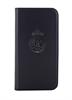 Funda Folio Negra Escudo Plata Función Soporte iPhone 6 Real Madrid