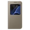 Funda S View Cover Oro Samsung Galaxy S7 Samsung