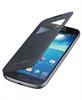 Funda S-View cover negra Samsung Galaxy S4 Mini