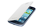 Funda flip cover blanca Samsung Galaxy Core Samsung