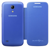 Funda flip cover azul Samsung Galaxy S4 Mini