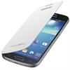 Funda flip cover blanca Samsung Galaxy S4 Mini