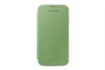 Funda flip cover amarillo/verde Samsung Galaxy S4