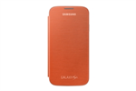 Funda flip cover naranja Samsung Galaxy S4