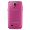 Funda protective cover rosa Samsung Galaxy S4 Mini