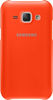 Funda Trasera Protectora Naranja Samsung Galaxy J1 Samsung