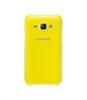 Funda Trasera Protectora Amarilla Samsung Galaxy J1 Samsung