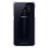 Carcasa Clear Cover Negra Samsung Galaxy S7 Edge Samsung