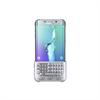 Funda con Teclado Plata Samsung Galaxy S6 Edge Plus Samsung