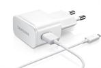 Transf Micro USB 2 Amp blanco Samsung