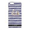 Carcasa Rayas Azul Marino Bord De Mer para Apple iPhone 6/6S So Seven