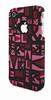 V&l Carcasa Pop Art rosa Apple iPhone 4/4S V&L