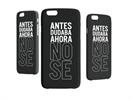 Funda Minigel Tacto Goma NegraNo Sé Apple iPhone 6 Words