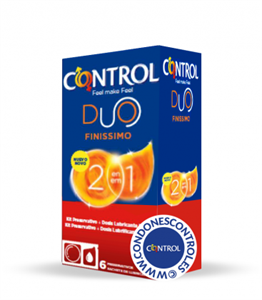 Control - Finissimo 2 en 1