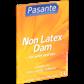 Pasante Oral Dam sin látex