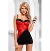 Tiffany Vestido Negro / Rojo Avanua S/M