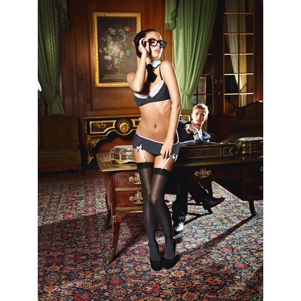 Baci Lingerie - Baci - Secretario Sexy Set S / M
