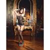 Baci Lingerie Baci - Servicio de cuarto de criada francesa Set One Size