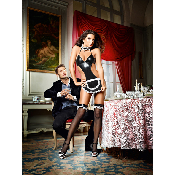 Baci Lingerie - Baci - A su servicio de criada francesa Set One Size