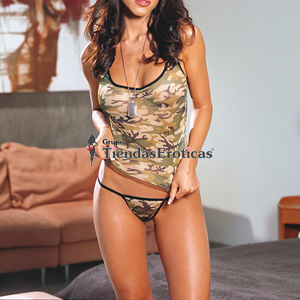 Dream Girl Conjunto de Camuflaje (Diamond 4247)