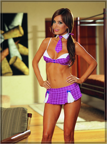Dream Girl Disfraz de colegiala Muy Sugerente