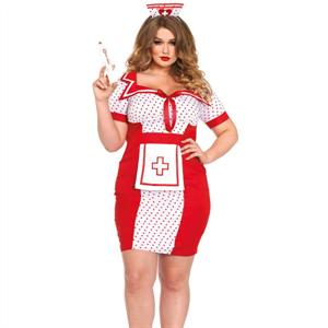 Leg Avenue Disfraz Enfermera Talla Grande 1x/2x