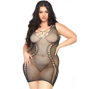 Leg Avenue Hourglass Mini Dress 1x-2x