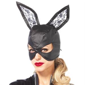 Leg Avenue Legavenue Leather Mascara Bunny