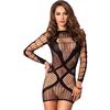 Leg Avenue - Leg Avenue Multi Mini Dress Negro