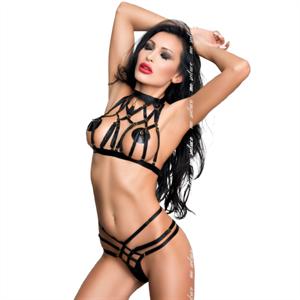 Me-seduce Aisha Set Negro S/M
