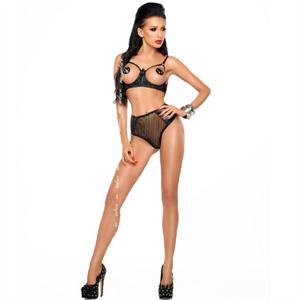 Me-seduce Jade Set Negro S/M