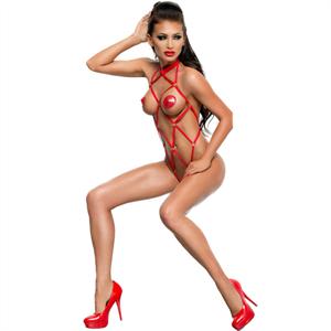 Me-seduce Anita Teddy De Correas Rojo S/M
