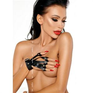 Me-seduce Guantes Negro S/M