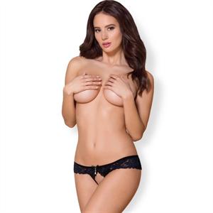 Obsessive - 866-pac-1 Panties Con Abertura S/M