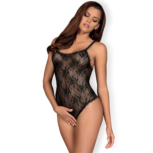 Obsessive - Cuerpo Abierto Behindy Negro S / M