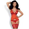 Obsessive Secred Corset & Panties Rojo S/M