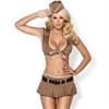 Obsessive Disfraz Militar 814-cst-4 Talla S/M
