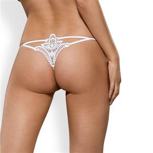 Obsessive Luiza Thong Blanco S/M