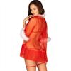 Obsessive - Conjunto Madre Navidad Santasia Rojo Tu